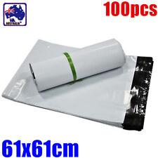 100pcs 61X61cm White Mailing Bags Posting Post Postal Mail Bag WBAGW6161x100