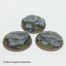 50mm Round Rock / Slate Scenic Resin Bases Warhammer 40K
