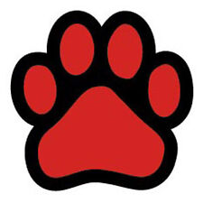Red Paw car magnet *Quality*