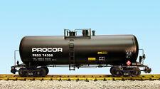 USA Trains G Scale 42 Foot Modern Tank Car R15265  Procor - Black