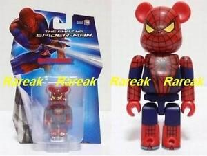 Medicom Be@rbrick 2012 Marvel The Amazing Spiderman 100% Spider Man Bearbrick 1P