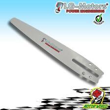"Barra / Lama Carving 10"" 25 cm per Catena 60 Maglie Micro - Passo 1/4 Motosega"