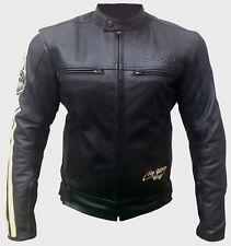 Veste En Cuir Femme Moto Noir Vintage Motard Veste Sport Taille XS S M L XL 2XL