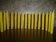 Beeswax Candles Handrolled Candles Birthday Cake candles Home decor 16 pcs