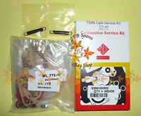 WEBER 38/40/42/45/48 DCOE TWIN Carburettor Service Kit Standard 175 needle valve