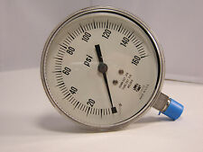 "Pressure Gauge 88886 P1535 3 1/2"" 160 PSI 1/4"" LMC"