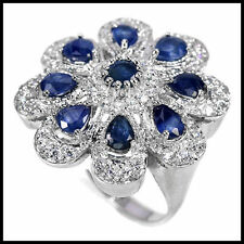 Sapphire Natural Fine Gemstone Rings