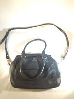 KATE SPADE Grove Court SLOAN Leather Satchel/Crossbody Black