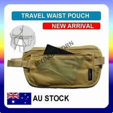 Travel Waist Pouch for Passport Money Belt Bag Hidden Security Wallet NEW