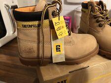 Boys caterpillar boots Size 11 Eur 30