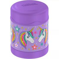 Thermos Funtainer Unicorn 10oz Food Jar Insulated LAVENDER