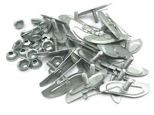 "Chevy  GM door fender belt body side moulding trim clips -1 1/2"" -25pcs"