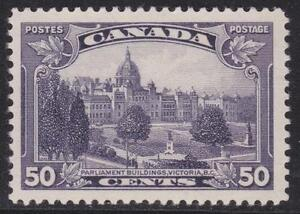 Canada 1935 #226 King George V Pictorial Issue - MH F/VF