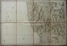 CALABRIA_CATANZARO_COSENZA_NICASTRO_BELLA ANTICA CARTOGRAFIA_STORIA LOCALE_MAPPA