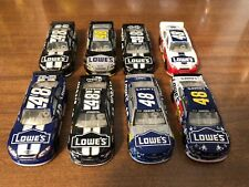 JIMMIE JOHNSON 1/64 NASCAR AUTHENTICS LOT OF 8, LOOSE