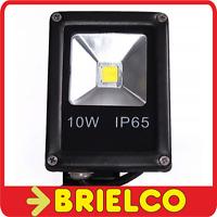 FOCO PROYECTOR LAMPARA LED 10W 220V SOPORTE ORIENTABLE 115X85X50MM NEGRO BD8933