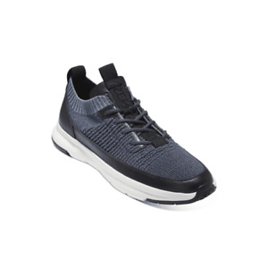 Cole Haan Men Lace Up Sneakers Zerogrand MVR Sneaker US 9M Marine Blue Knit