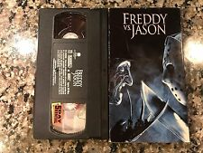 Freddy Vs Jason VHS! 2003 Horror Slasher Jason X Scream 2 Friday The 13th