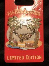 Mickey Mouse Mele Kalikimaka 2016 Pin Hammock Swing Holiday Pin Le3000