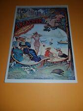 carte postale CHEMIN DE FER D'ORLEANS ARCACHON