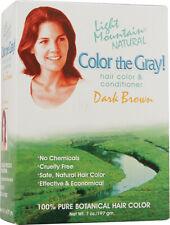 Color The Gray Dark Brown, Light Mountain, 7 oz