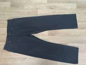 Gant Mens Jeans 32W 30L Jason Regular Fit Black (665)