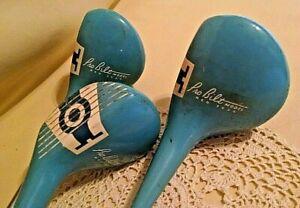 NORTHWESTERN GOLF CO DRIVER SET 3 PRO BILT 3525 BLUE #1 #3 #5 VINTAGE CLUBS.