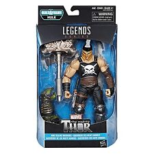 MARVEL LEGENDS THE MIGHTY THOR NINE REALMS WARRIORS ARES BUILD A FIGURE HULK BAF