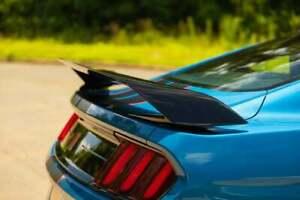 Ford Mustang GT350 Trunk Spoiler Matte Black 2015 2016 2017 2018 2019 2020