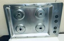 GE Glass Range Stove Model GHDA485N10CS  Cooktop Stainless Top Surface Only
