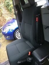 LTI / LTC TX1, TX2 & TX4 Fabric Drivers Seat. London black cab. Taxi Seat