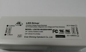 LED Dimming Driver LD075D-VA32024-M40 Constant Voltage Phase Dimmer 120V