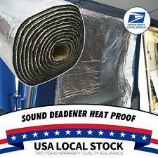 Sound Deadener Heat Shield For Car Firewall Hood Floor Insulation Mat 120