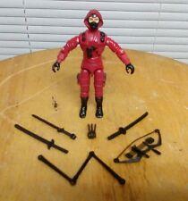 G.I. Joe Storm Shadow is here(red ninja suit)action figure