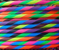 "38"" 20mm Travel MDPE Hula Hoop by Rainbow Dragon - Adult Collapsible Hulahoop"