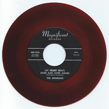 ARABIANS MY HEART BEATS OVER AND OVER AGAIN ON MAGNIFICENT VG+ RED WAX REISSUE