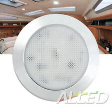 12V LED Dome Cabinet Light Canravan/Motorhome/RV Roof Ceiling Lamp Cool white