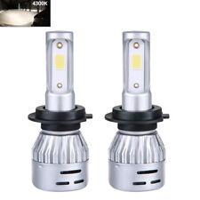 Mini size Car H7 LED Headlight Bulbs Conversion Cree COB Kit 72W 8000lm 4300K