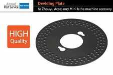 Dividing Plate Indexing Dividing Drilling DIY Mini Machine Zhouyu Accessory