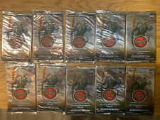 Chaotic Trading Card Game OP Tournament Pack 1st Ed. Lot of 10 Unopened Packs