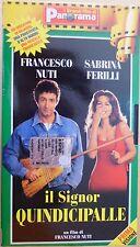 Il signor Quindicipalle (1998) VHS