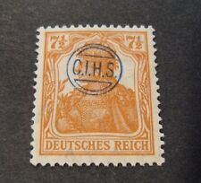 "GERMANIA,GERMANY D.REICH PLEBISCITO 1920 OVP "" C.I.H.S."" 7,5 c MH  signed"