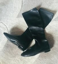 CHANEL BOOTS BLACK - Size 38 ( 8)