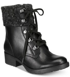 Bare Traps Womens Orley Fabric Closed Toe Ankle Fashion Boots, Black
