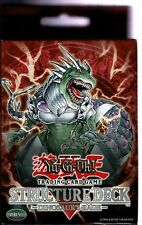YU-GI-OH    DINOSAUR'S RAGE  STRUCTURE DECK  1ST ED  MINT  NEW IN ORIGINAL BOX