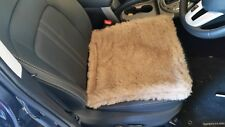 Pair of Alpaca/merino wool blend car seat covers.