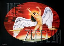 More details for led zeppelin swansong / icarus large fabric poster / flag 1100mm x 750mm (hr)