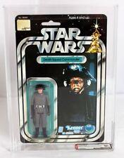 Star Wars Vintage Carded SW Death Squad Commander 20 Back-A // AFA 80 NM #118463