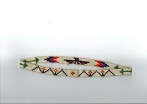 Indianerschmuck Stirnband Indianer Perlen 5 Reihig