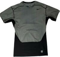 Mens Nike Pro Combat DriFit Hypercool Compression Shirt XL Black Gray